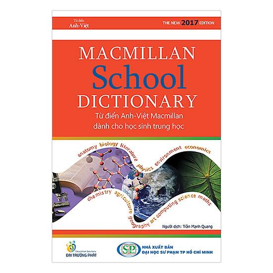 [Download Sách] Macmillan School Dictionary