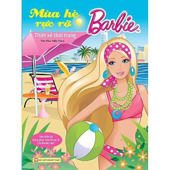 [Download Sách] Barbie Thiết Kế Thời Trang - Mùa Hè Rực Rỡ