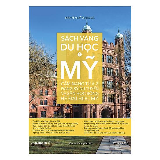Download sách Sách Vàng Du Học Mỹ (Tập 1)