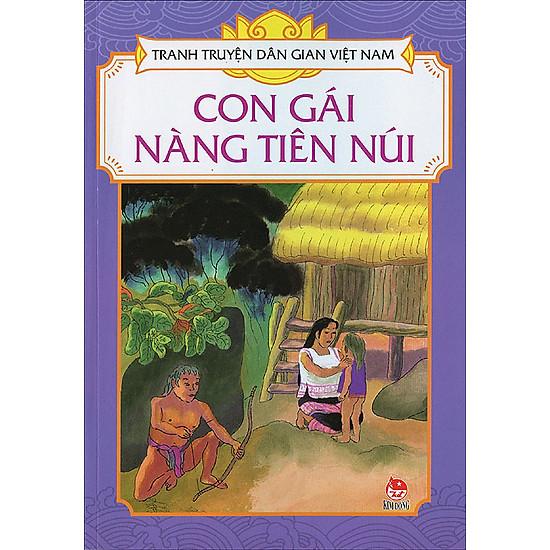 Tranh Truyện Dân Gian Việt Nam – Con Gái Nàng Tiên Núi
