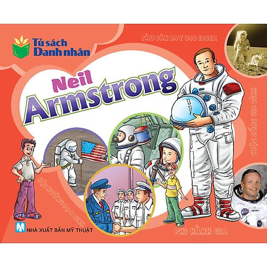 [Download Sách] Tủ Sách Danh Nhân - Neil Armstrong