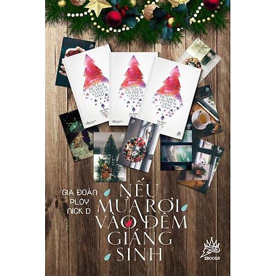 Hình ảnh download sách Nếu Mưa Rơi Vào Đêm Giáng Sinh (Tặng Thiệp Giáng Sinh Xinh Xắn Cho Đơn Hàng Đầu Tiên)