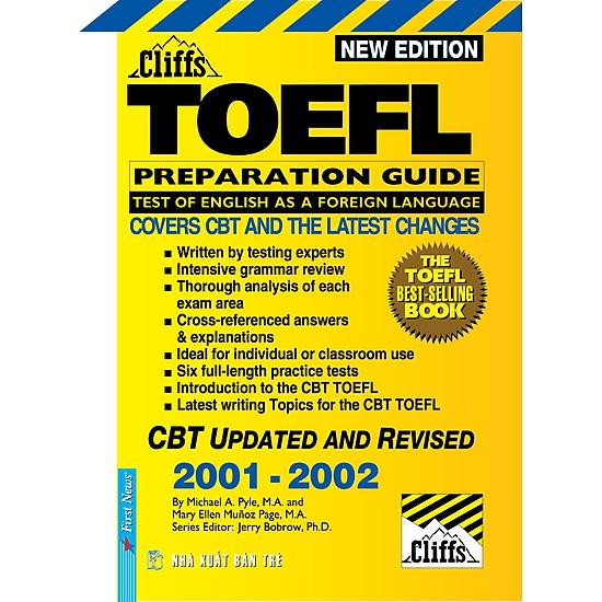 New Cliffs Toefl Guide 2001 – 2002 (Tái Bản) – Kèm CD