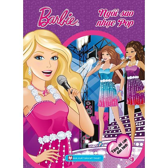 [Download Sách] Barbie Chọn Nghề - Ngôi Sao Nhạc Pop