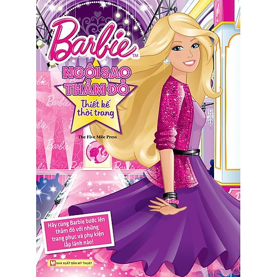 [Download Sách] Barbie Thiết Kế Thời Trang - Ngôi Sao Thảm Đỏ