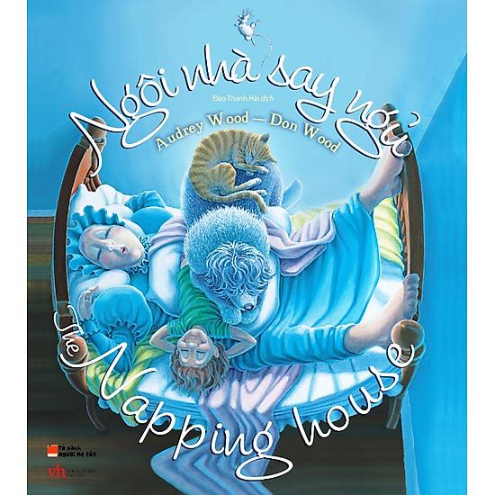 Picture Book Song Ngữ – Ngôi Nhà Say Ngủ – Napping House