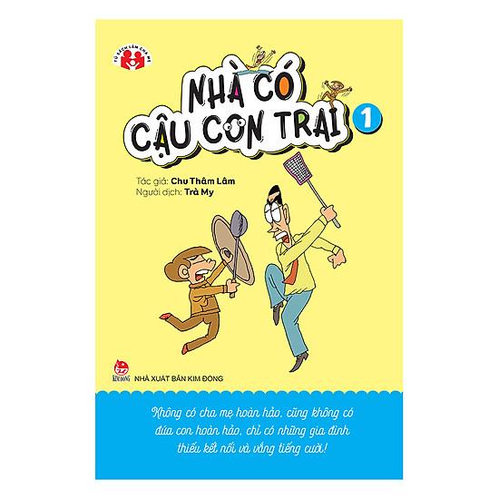 Download sách Nhà Có Cậu Con Trai - Tập 1
