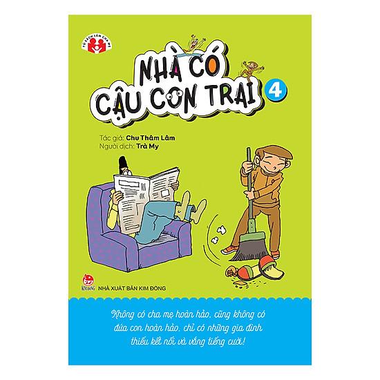 [Download Sách] Nhà Có Cậu Con Trai - Tập 4