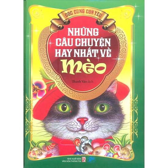 Hình ảnh download sách Những Câu Chuyện Hay Nhất Về Mèo