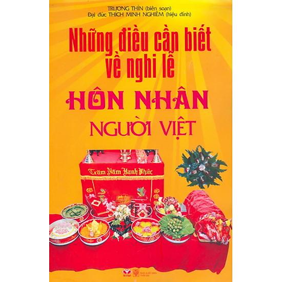 [Download Sách] Những Điều Cẩn Biết Về Nghi Lễ Hôn Nhân Người Việt