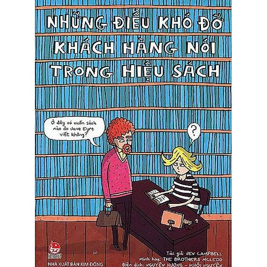 Những Điều Khó Đỡ Khách Hàng Nói Trong Hiệu Sách - EBOOK/PDF/PRC/EPUB