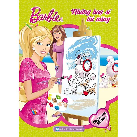 [Download Sách] Barbie Chọn Nghề - Những Họa Sĩ Tài Năng