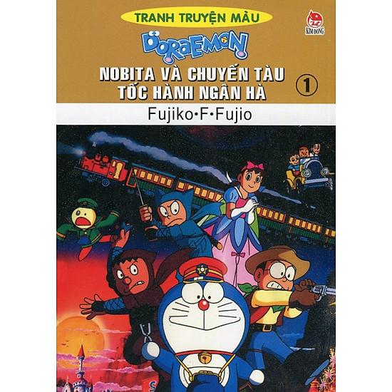 Nobita Và Chuyến Tàu Tốc Hành Ngân Hà – Tập 1 (Truyện Tranh Màu)