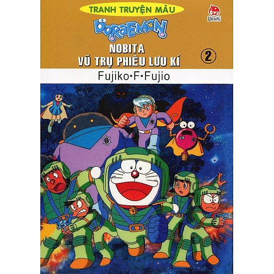 [Download sách] Nobita Vũ Trụ Phiêu Lưu Kí - Tập 2