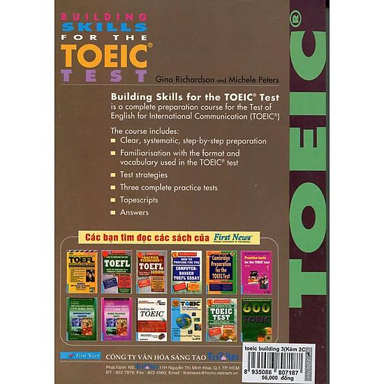 Building Skills For The TOEIC Test - Chương Trình Luyện Thi TOEIC (Kèm CD)