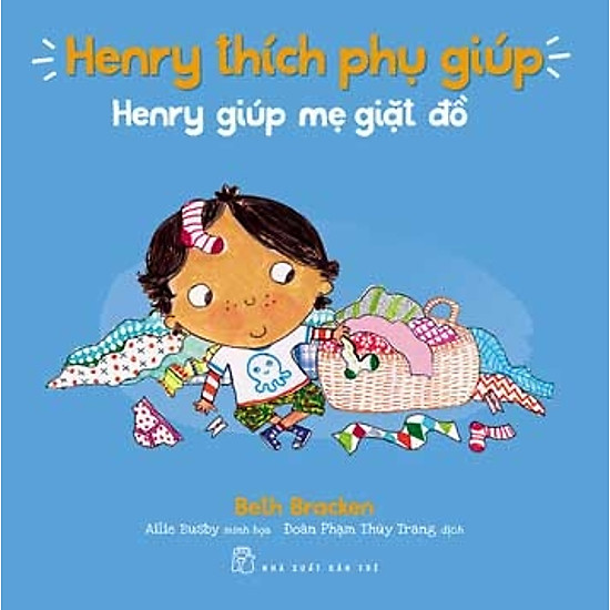 Henry Thích Phụ Giúp – Henry Giúp Mẹ Giặt Đồ