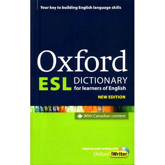 Oxford ESL Dictionnary For Learner Of English (Kèm CD)