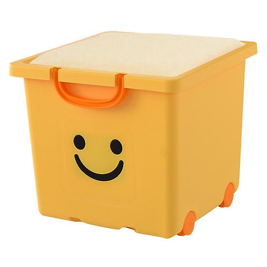 Thùng Nhựa Đa Năng Happy Box Yuwon PS YW-07-02 - Vàng Nhạt