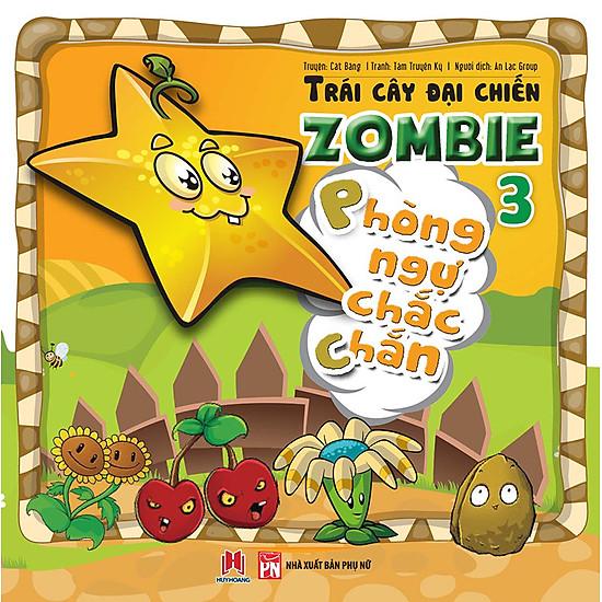 Trái Cây Đại Chiến Zombie (Tập 3) – Phòng Ngự Chắc Chắn