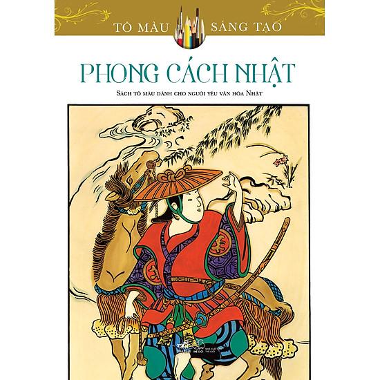 [Download Sách] Tô Màu Sáng Tạo - Phong Cách Nhật