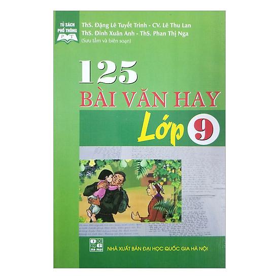 [Download Sách] 125 Bài Văn Hay - Lớp 9