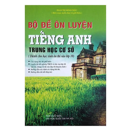 [Download Sách] Bộ Đề Ôn Luyện Tiếng Anh Trung Học Cơ Sở