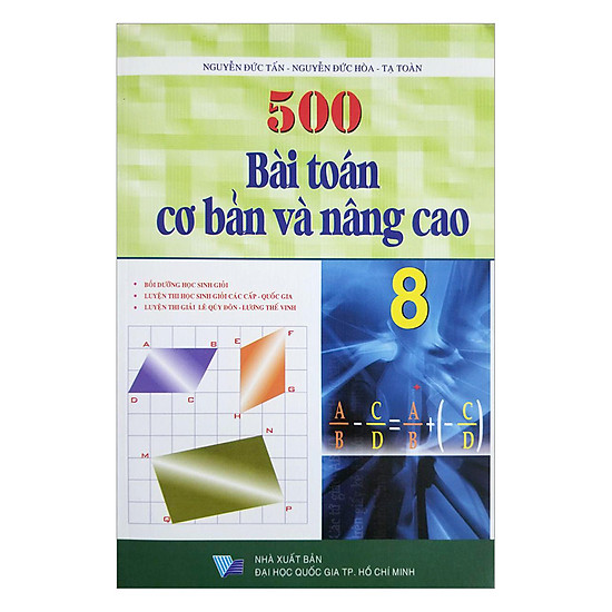 [Download sách] 500 Bài Toán Cơ Bản Và Nâng Cao Lớp 8