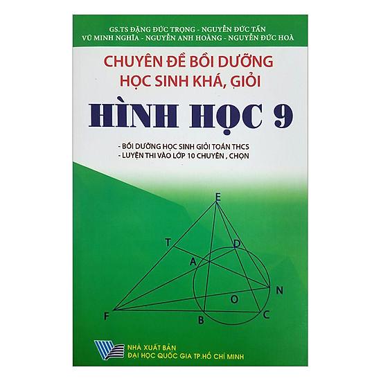 [Download Sách] Chuyên Đề Bồi Dưỡng Học Sinh Khá, Giỏi Hình Học Lớp 9