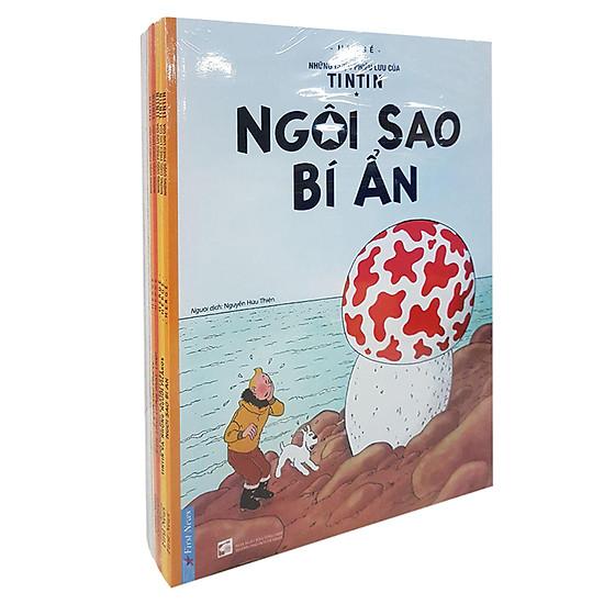 Combo Những Cuộc Phiêu Lưu Của Tintin