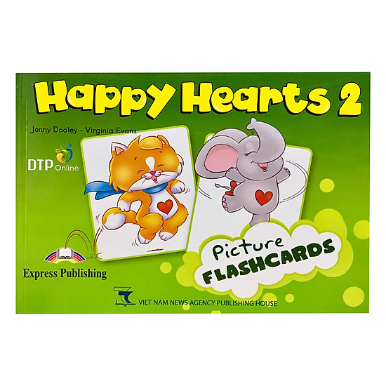[Download Sách] Happy Hearts US 2 Picture Flashcards