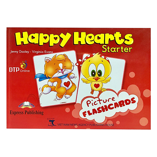 [Download Sách] Happy Hearts US 0 Picture Flashcards