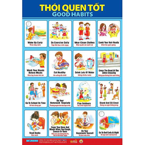 Download sách Poster Lớn - Thói Quen Tốt