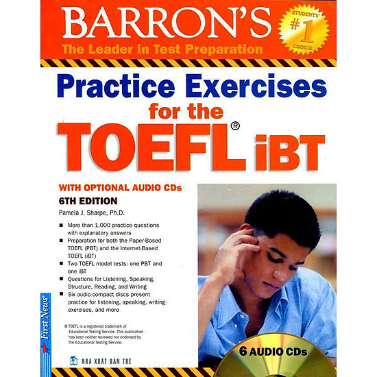 Practice Exercises For The TOEFL iBT (6th Edition) – Không Kèm CD