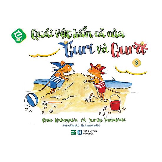 [Download Sách] Ehon Nhật Bản - Quái Vật Biển Cả Của Guri Và Gura
