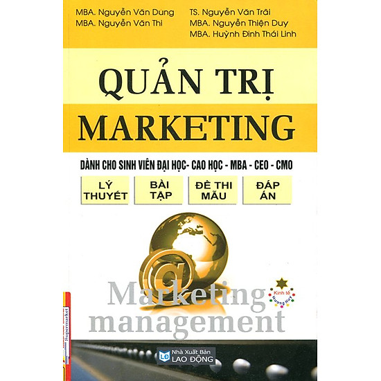 [Download sách] Quản Trị Marketing