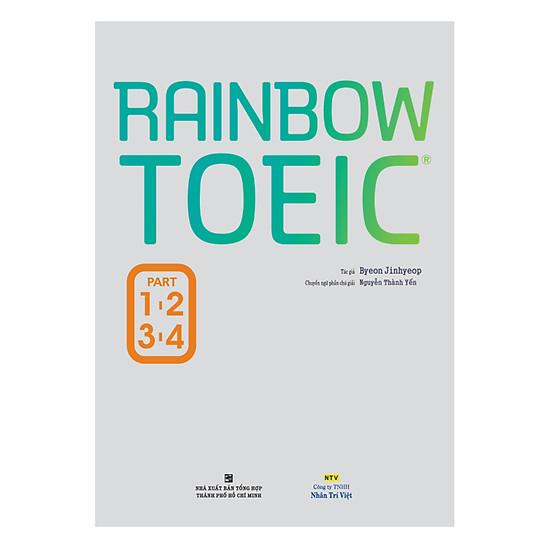 [Download sách] Rainbow TOEIC - Part 1,2,3,4 (Kèm CD)
