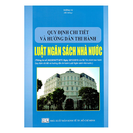 Quy Định Chi Tiết Và Hướng Dẫn Thi Hành Luật Ngân Sách Nhà Nước