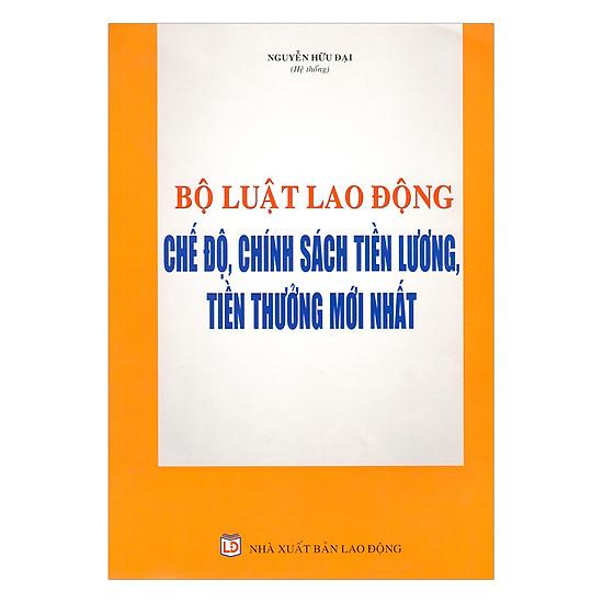 [Download Sách] Bộ Luật Lao Động - Chế Độ, Chính Sách Tiền Lương, Tiền Thưởng Mới Nhất
