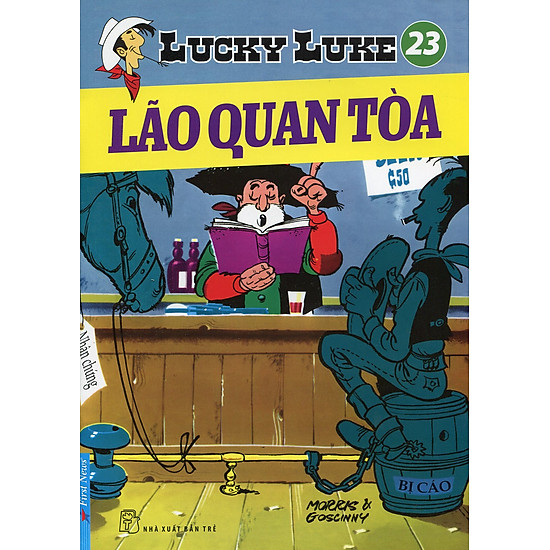 [Download sách] Lucky Luke 23 - Lão Quan Toà