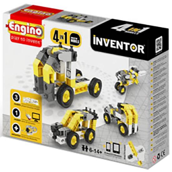 Mô Hình Engino Inventor – Xe Công Nghiệp M4 0434 (16 x 22 x 5.5cm)