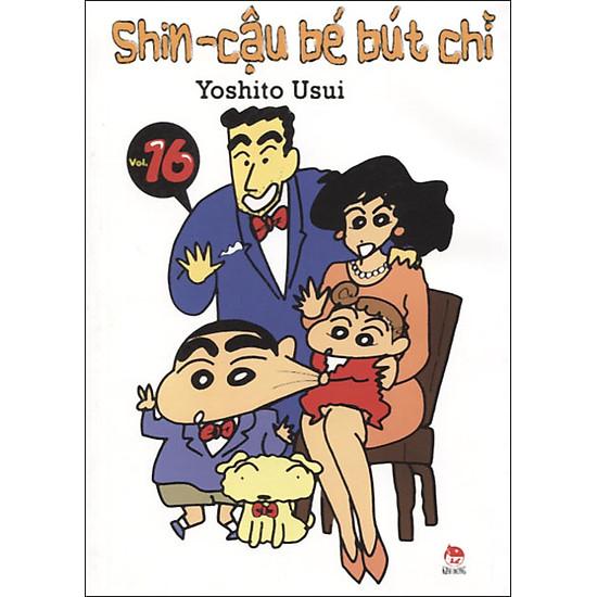Shin - Cậu Bé Bút Chì (Tập 16 - Tái Bản)
