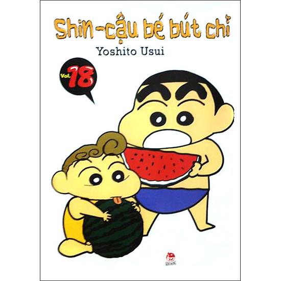Shin - Cậu Bé Bút Chì (Tập 18 - Tái Bản)