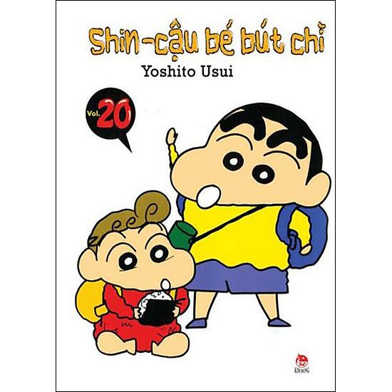 Shin - Cậu Bé Bút Chì (Tập 20) - Tái Bản