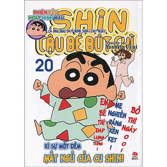 Shin – Cậu Bé Bút Chì (Hoạt Hình Màu) – Tập 20 (Tái Bản 2015)