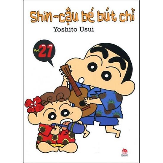Shin - Cậu Bé Bút Chì (Tập 21 - Tái Bản)