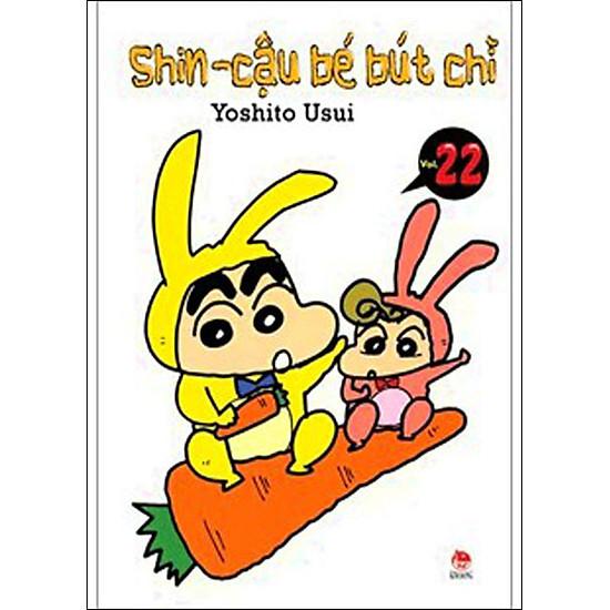 Shin - Cậu Bé Bút Chì (Tập 22 - Tái Bản)