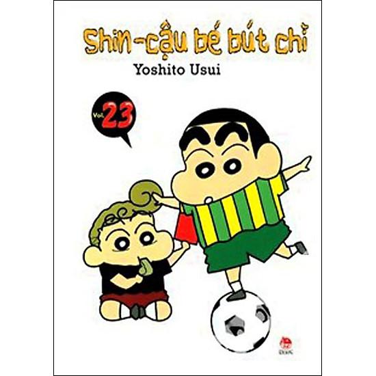 Shin - Cậu Bé Bút Chì (Tập 23 - Tái Bản)