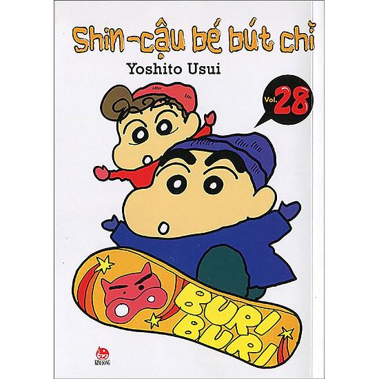 Shin – Cậu Bé Bút Chì (Tập 28 – Tái Bản 2014)