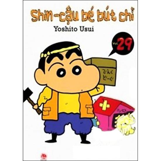 Shin – Cậu Bé Bút Chì (Tập 29 – Tái Bản 2014)