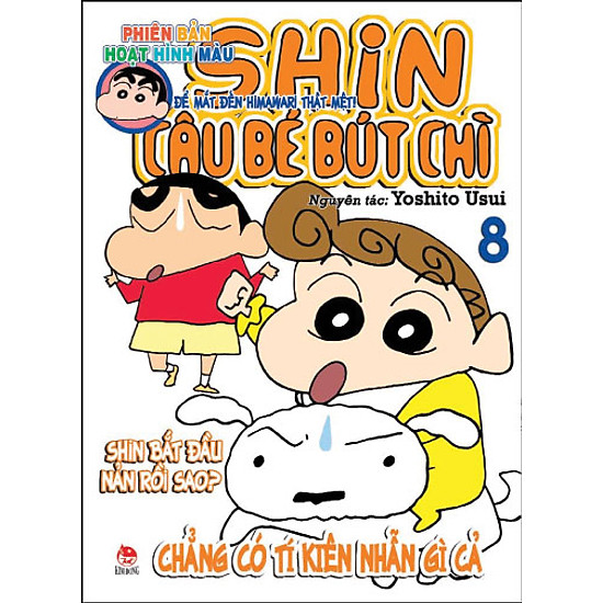 Shin - Cậu Bé Bút Chì (Hoạt Hình Màu) - Tập 8